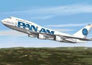 FS2000 Pan Am Boeing 737-200 Clipper Berlin (Billboard